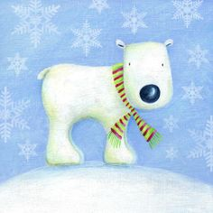 Ileana Oakley - polar bear christmas cute.jpg
