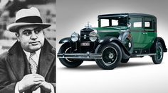 Al Capone's armored 1928 Cadillac with gunfight window up for auction this weekend | Motoramic - Yahoo! Autos