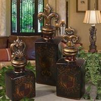 old world,tuscan,spanish,mediterranean outdoor decor | Tuscan Home Decor | BellaSoleil.com Tuscan Decor and Italian Pottery