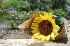 Nay mặt trời đi trốn ở đâu?  Where is the sun hiding?  #HoaGiayHandmadeThaoKi #DIYFlower #SunFlower