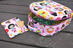 Girls Insulated Lunch Bag PDF Sewing Pattern by Sew Sweetness