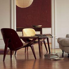 Hans Wegner, CH07 Shell Chairs, 1963. Carl Hansen and Son