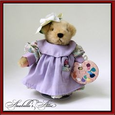 Muffy VanderBear Collectible Teddy Clawed Monet by AnabellesAttic, $50.00
