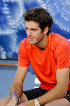 Juan Martin Del Potro. A lovely man with a wonderful game.