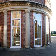doors were installed to a luxury hotel in Hertfordshire, to replace the existing wooden framed doors. These aluminium systems were polyester powder coated in a white RAL colour in keeping with the original glazing systems. Casement Windows, Windows And Doors, Luxury Hotel Design, Windows System, Function Room, Aluminium Windows, Architecture Design, Spa, Create