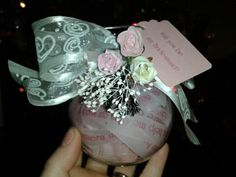 Will you be my bridesmaid ornament!