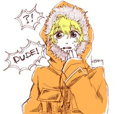 xD Kenny is so adorable! South Park Anime, South Park Fanart, South Park Characters, Fictional Characters, Kenny South Park, Goin Down, Park Art, Disney Marvel, Animation Series