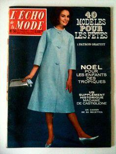 L'echo de la mode n° 50 année 1962