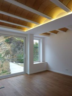 Gallery of House Ca's Bouer / Jordi Queralt + La Boqueria - 14 Brick Architecture, Architecture Details, Interior Architecture, Timber Ceiling, Brick Design, Ceiling Design, Home Decor Kitchen, Model Homes, Interior Lighting