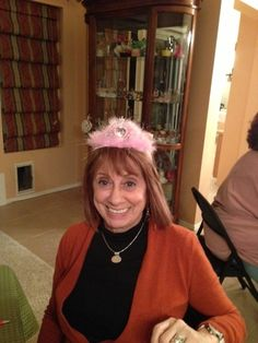 Bunco Queen Toni (visiting from NY)