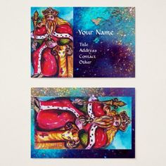 TAROTS OF THE LOST SHADOWS / THE EMPEROR BUSINESS CARD #tarot #psychics #fineart #stars #cartomante #astrology #magic