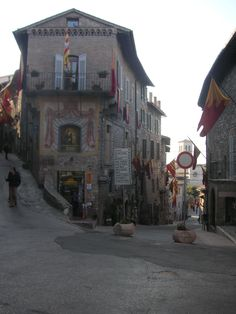 Me too!!!: The city of Assissi in Italy '  i have stood at this spot
