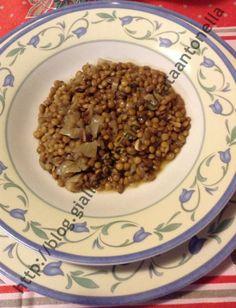 La #zuppa_di_lenticchie è una ricetta trovata su un libro dell'Enciclopedia del Mangiar Sano.