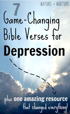 Here are my 7 top game-changing Bible verses for depression. These truly helped me renew my mind and bring comfort during challenging times.