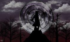 Sasuke Uchiha Rinnegan [Moon Eye] Wallpaper by SuzukeAmaterasu.deviantart.com on…