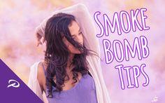 Smoke Bomb Photoshoot Tips
