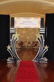 Party Themes Hollywood Oscar Night 15 Ideas For 2019 Dance Themes, Movie Themes, Party Themes, Farewell Party Decorations, Room Decorations, Ideas Party, Oscar Party, Hollywood Thema, Soirée Des Oscars