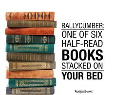 Ballycumber by your bedside…such a book nerd move :)