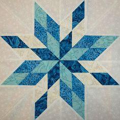 Sampaguita Quilts: Stars of the Sea in AP&Q