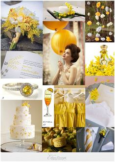 Mimosa and lemons – Sunny Wedding Inspiration from La Fete du Citron and La Fete du Mimosa ideas from France on yellow wedding themes Purple Wedding, Wedding Colors, Wedding Flowers, Wedding Day, Yellow Weddings, Wedding Images, Wedding Themes, Wedding Styles, Mimosa Plant