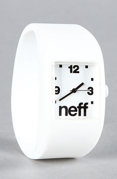 The Bandit Watch in White by NEFF at karmaloop.com  Should I get it?