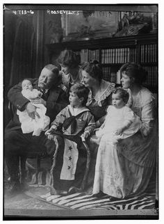 flic.kr/p/L7Np7w | Roosevelts [Theodore Roosevelt & family] (LOC) | Bain News Service,, publisher. Roosevelts [Theodore Roosevelt  family] [between ca. 1915 and ca. 1920] 1 negative : glass ; 5 x 7 in. or smaller. Notes: Title from data provided by the Bain News Service on the negative. Forms part of: George Grantham Bain Collection (Library of Congress). Format: Glass negatives. Rights Info: No known restrictions on publication. Repository: Library of Congress, Print...