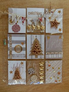 excellent suggestions concerning investing in gold? Head to my amazing site! Christmas Scrapbook, Christmas Tag, Handmade Christmas, Pocket Pal, Pocket Cards, Mini Albums, Project Life, Art Trading Cards, Pocket Scrapbooking