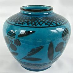 Rookwood 6 1 4 Gloss Moderne Mid Century 6761 Vase Circa 1939 Designer Rehm | eBay