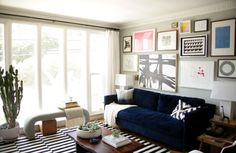 How to Create a Focal Wall (includes tips for a gallery wall)