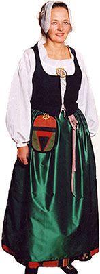 Härmä och Storkyroområdet. Härmän-Isonkyrön seutu. Etelä-Pohjanmaan naisen kansallispuku. Kuva © Etelä-Pohjanmaan museo Folk Costume, Costumes, Costume Ideas, Ethnic Dress, Traditional Dresses, Finland, Scandinavian, 7 Continents, Folklore