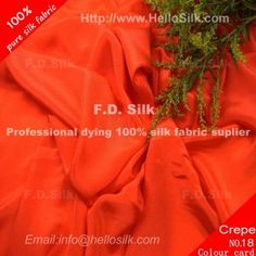 http://www.silkfabricwholesale.com/16mm-silk-crepe-de-chine-fabric-rust-red.html        F.D. silk most professional 16mm silk crepe de chine fabric-rust red  supplier.