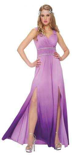 Franco Lilac Goddess Costume Greek and Roman Costume | Clothing