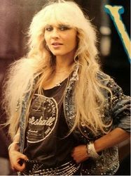 Young doro Former Megadeth