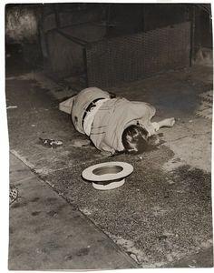 Body of Dominick Didato, Elizabeth Street, New York, August 7, 1936.