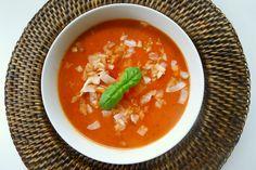 Tomaten papaja soep recept (vegan) ~ lekker, makkelijk, koolhydraatarm ~ www.con-serveert.nl