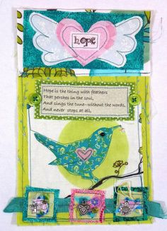 Leslie's Art and Sew: Hope Prayer Flag