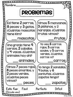 Sumando 3 Números Math Word Problems Word Problems Kids Math Worksheets