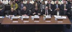 This is the witness panel for the US House of Representatives hearing on birth control. Count the women who will testify. ONE!  The radical right wing fanatics are marching us into a theocracy. Stop the REPUBLICAN war on women. Stop voting for them