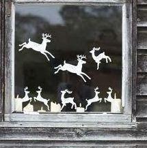 Como puedo decorar las ventanas en navidad : cositasconmesh