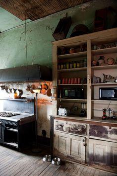 "georgianadesign:      David Hurlbut's""neo-Gilded Age steampunk"" rehab of the abandoned Harmony Club building in Selma, Al. PhotographerRobert Rausch for The New York Times."