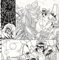 WEB WARRIORS. David Baldeon, Walden Wong Sub me on www.youtube.com/WaldenWongArt . #marvel #marvelcomics #anime #manga #sketch #inker #comics #spiderman #spiderverse #illustration #arts #artwork #micron #spidergwen #comics #artworks #MCU #artwork #art #artist #draw #drawing #illustrate #arte #inking #inks #draweveryday #picoftheday #spiderham #doodleart #drawingoftheday #drawdrawdraw