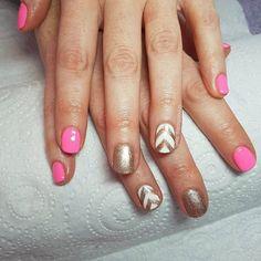 HOT PINK #nails #nail #fashion #style #cute #beauty #beautiful #instagood #pretty #girl #girls #stylish #sparkles #styles #glitter #nailart #art #photooftheday #unhas #preto #branco #rosa #love #shiny #polish #nailpolish #nailswag #gelmanicure #gelpolish #notd