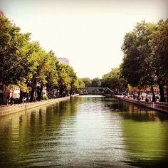 Canal à Paris, Île-de-France