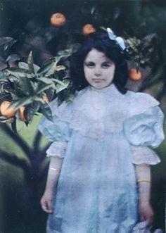 John Cimon Warburg (1867-1931) 'Peggy in the Garden' 1909, printed 2016