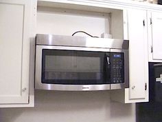 As The First Step Towards A Small Remodel Of Our Kitchen Adding An Over Range Microwave Has Made Huge Difference Already In How We Re Able To Use