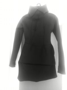 neopren black jacket by Sincolors by andr EEa