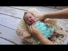 Xiao Bao Newborn Solid Full Body Silicone Baby Doll - YouTube