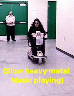 Ozzy, probably headed to the stage, cuz Sharon will keep him touring$$$ til he's near death!! {GM}