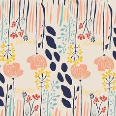 Kids Patterns, Fabric Patterns, Print Patterns, Floral Patterns, Mint Nursery, Nursery Fabric, Nursery Curtains, Floral Nursery, Motif Floral