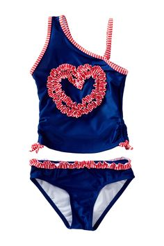 Heart Tankini (Big Girls) by Jantzen on @nordstrom_rack